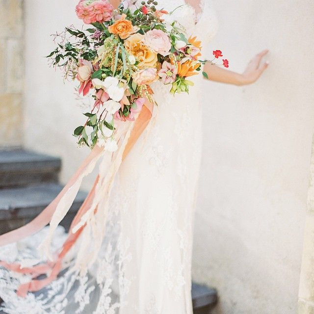 """any bouquet drenched in @froufrouchic is always a favorite bouquet in my books. dreaming up lots of prettiness like this in anticipation of @kaylabarkerphoto's upcoming workshop in france next month alongside my darlings @bowsandarrowsflowers & so many other talented creatives! #kaylabarkerworkshop"" Photo taken by @kylieswanson on Instagram, pinned via the InstaPin iOS App! http://www.instapinapp.com (06/10/2015)"