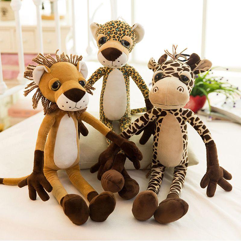 CLICK IMAGE TO BUY <60/80cm New Jungle Animals tiger lion giraffe ...
