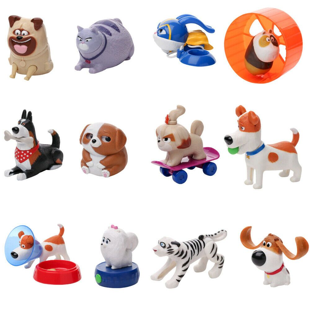 Mcdonald S Toy Happy Meal 2019 The Secret Life Of Pets 2 Happy Meal Toys Secret Life Of Pets Mcdonalds Toys