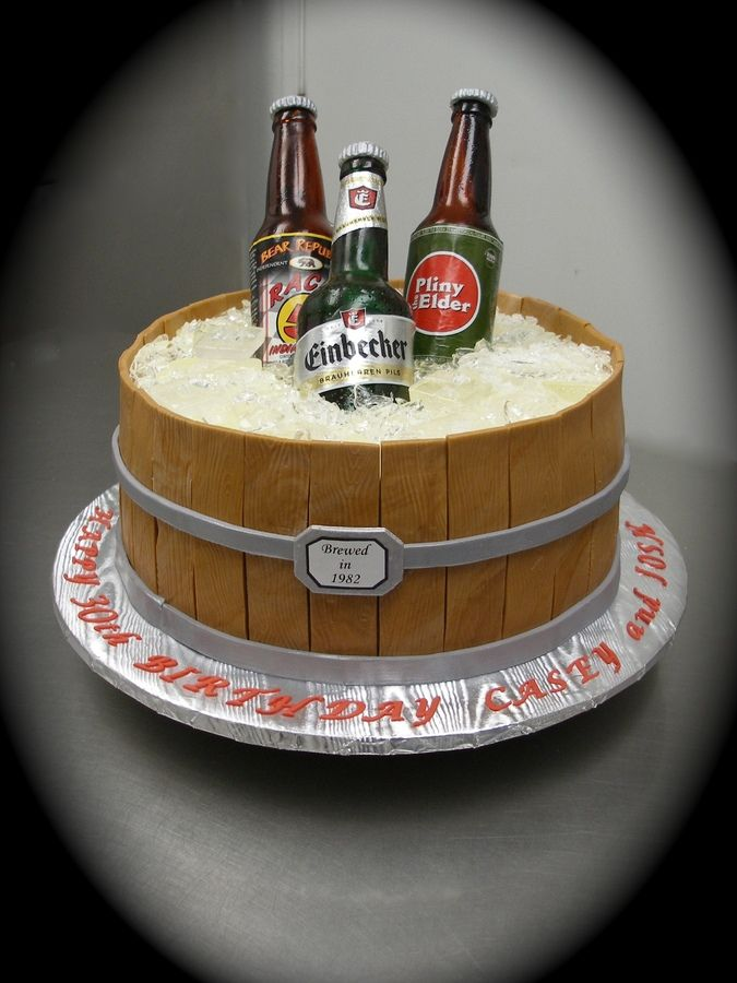 Beer Bottle cake Future project for dads 60th birthday Stuff to
