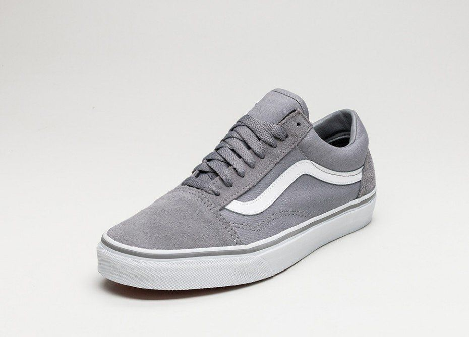 vans old skool canvas grau