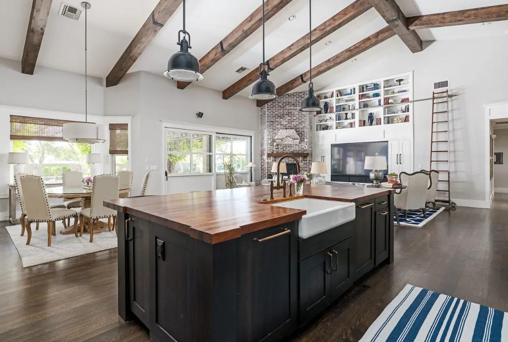 47 Grundrissideen Fur Kuche Wohnzimmer Und Esszimmer Mit Offenem Konzept Dieses Des Living Room Floor Plans Dining Room Floor Open Concept Kitchen Living Room