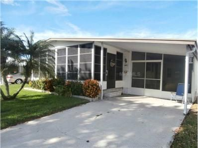 4751 Burney Dr Holiday Fl 34690 51 700 Completely Furnished Home In Active 55 Community All New Windows With Images Sliding Glass Door Enclosed Porches Bay Window
