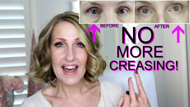 STOP UNDER EYE CONCEALER FROM SETTLING INTO LINES Under