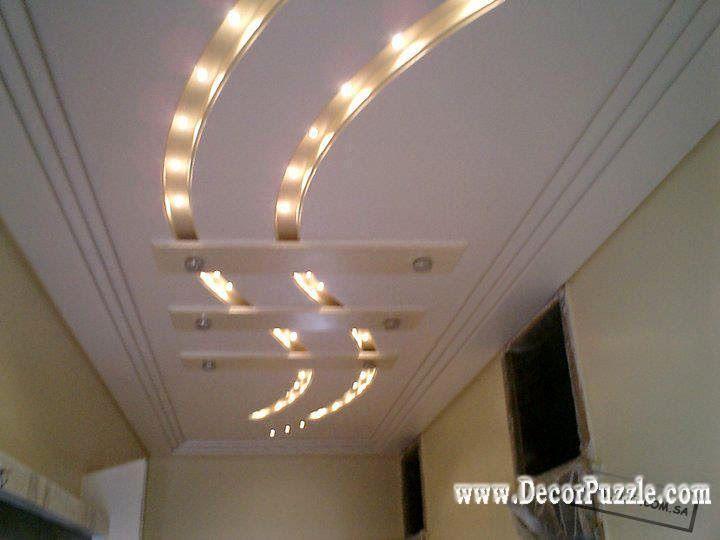Kitchen Ceiling Lights Area Rugs For Modern False Design Led Suspended