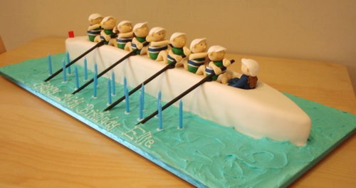 This is too cute to eat! #rowing | Rowing | Rowing oars