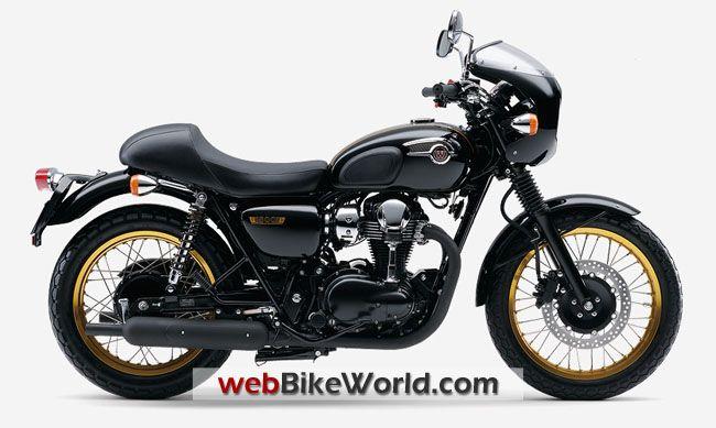 Kawasaki W800 Cafe Racer Special Edition Motociclismo Kawasaki