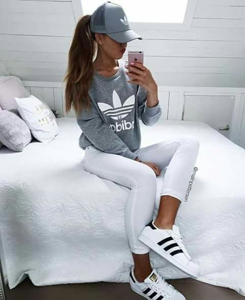 wholesale dealer 68ab4 8aa25 Super cute  Adidas tee! We love adidas at  Sportdecals! Get custom Adidas  gear today! Adidas Womens ZX Flux core black copper metallic Okay THIS is  on my ...