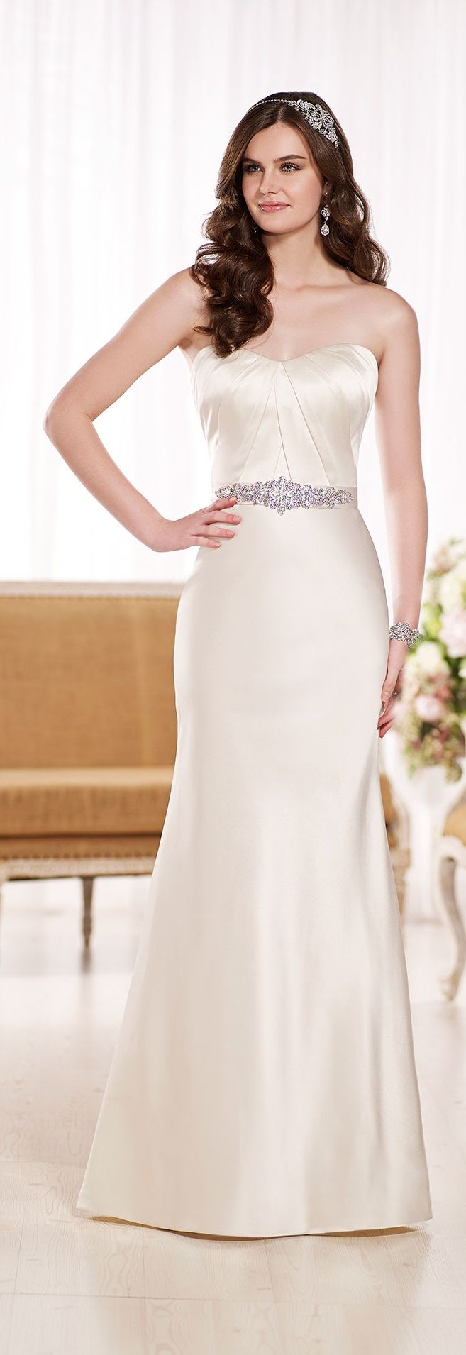 wedding dress from Essense of Australia