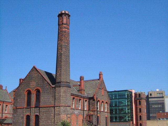 Royal Infirmary Buildings Liverpool This Late Victorian