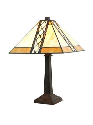 Legacy Lighting Bridgeport Table Lamp, Burnished Walnut