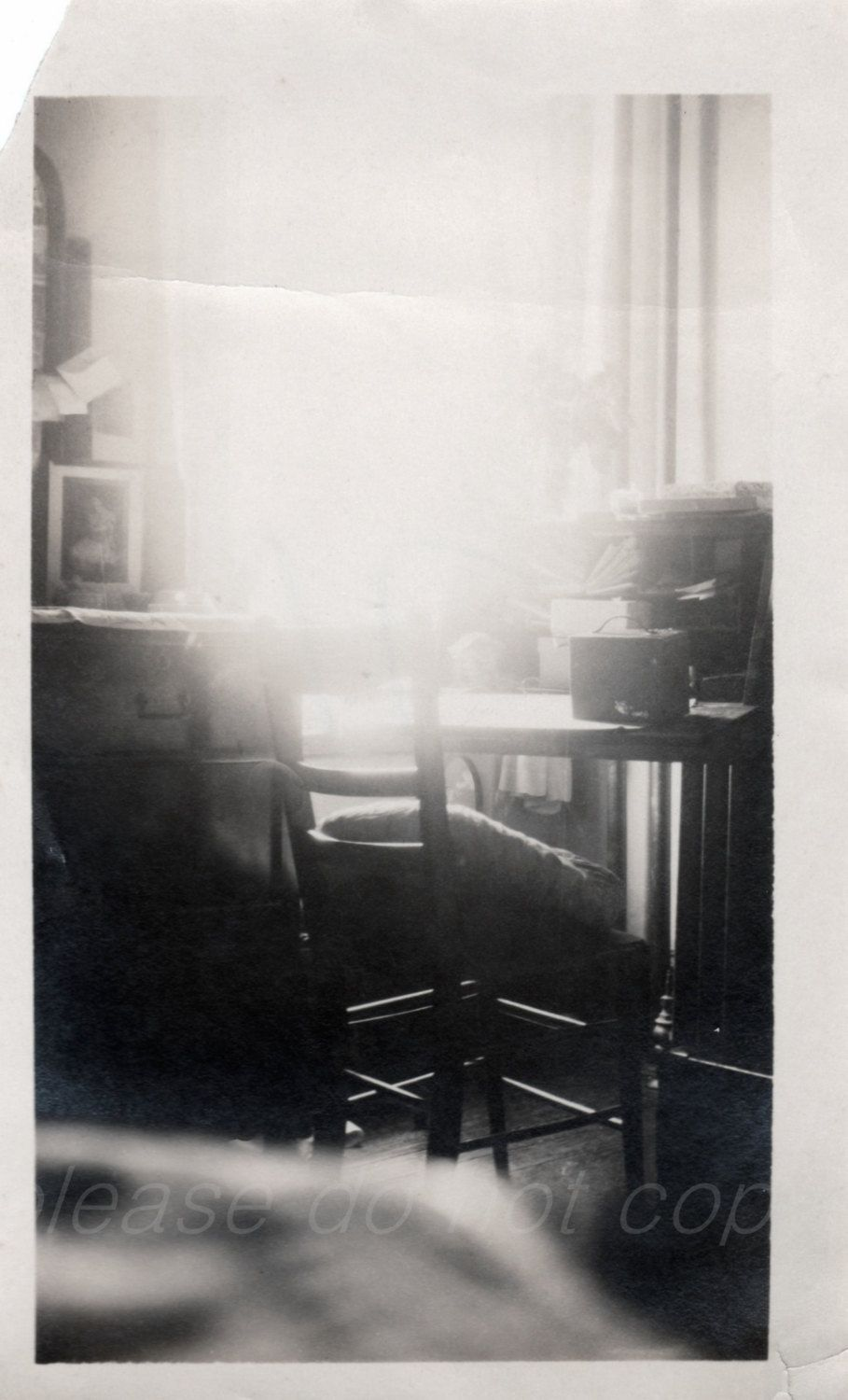 the study Antique Snapshot Photo by photopicker on Etsy https://www.etsy.com/listing/220994488/the-study-antique-snapshot-photo