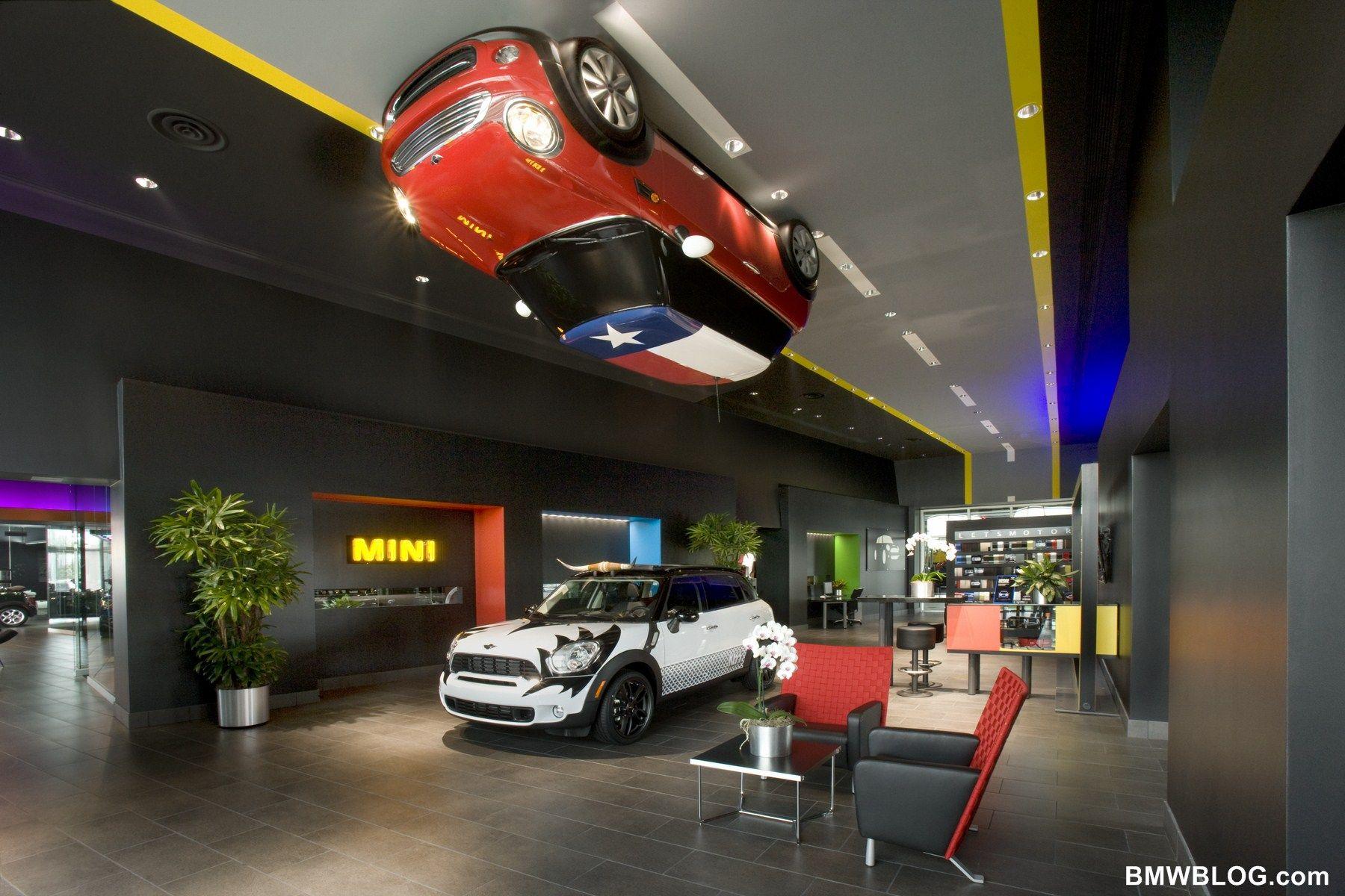 Dedicated mini dealership features dramatic design and fun
