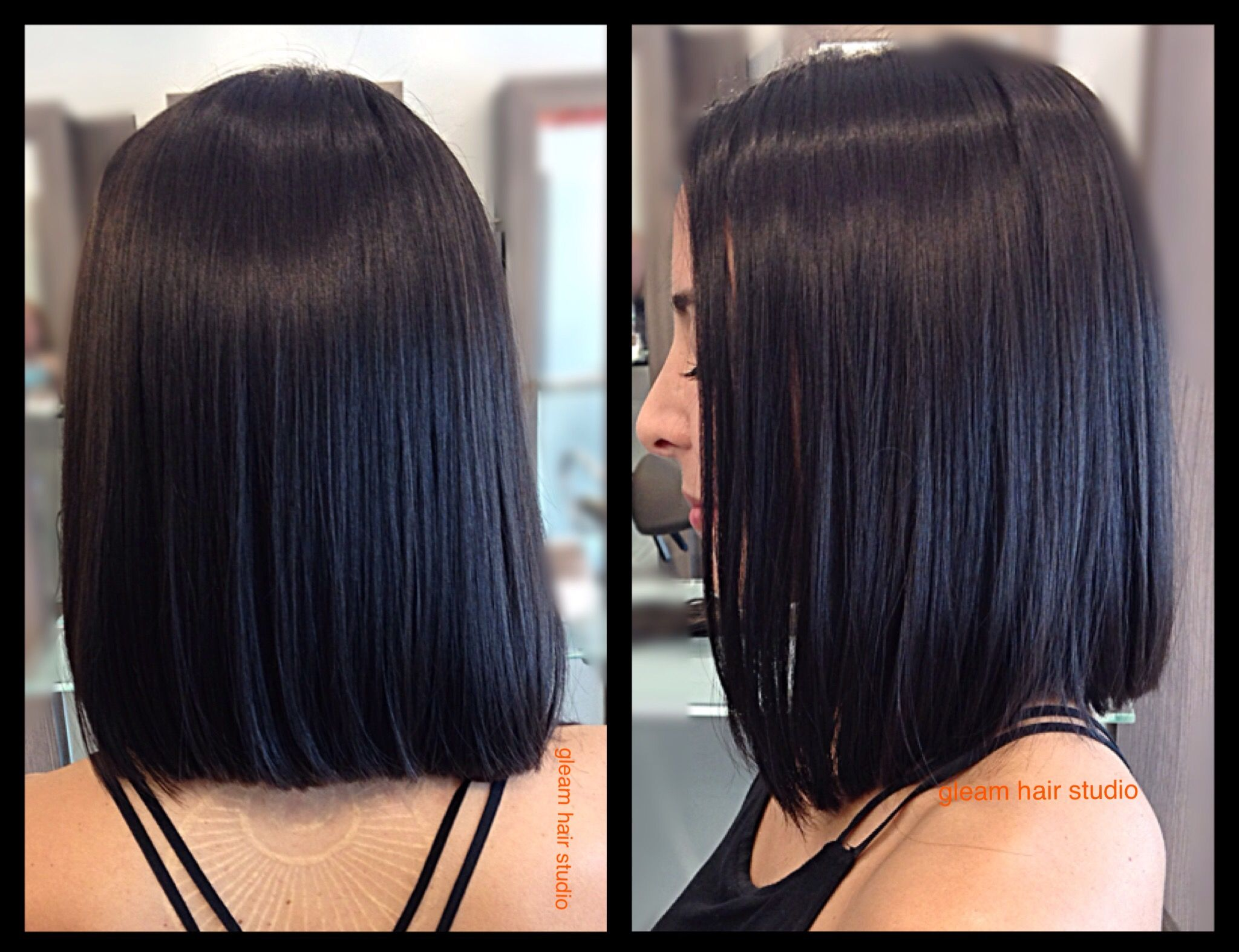 Blunt Bob Done By Carole Gleam Hair Studio Miami Best Hair Salon Hair Salon Miami Hair Studio