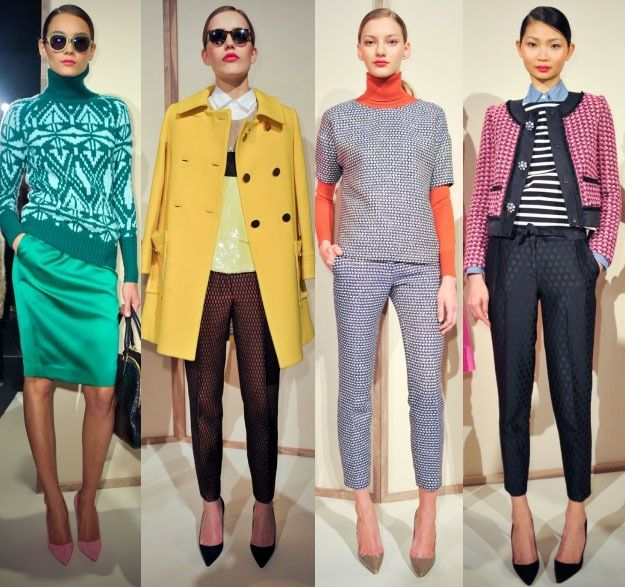 J.Crew Fall 2012 - so inspired by the styling, right down to the pointy toe pumps