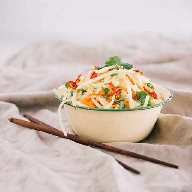 Nothing compares to a really good green papaya salad recipe nothing compares to a really good green papaya salad recipe featured in our gut forumfinder Images