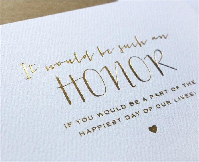 Bridesmaids – Creative Ways To Ask