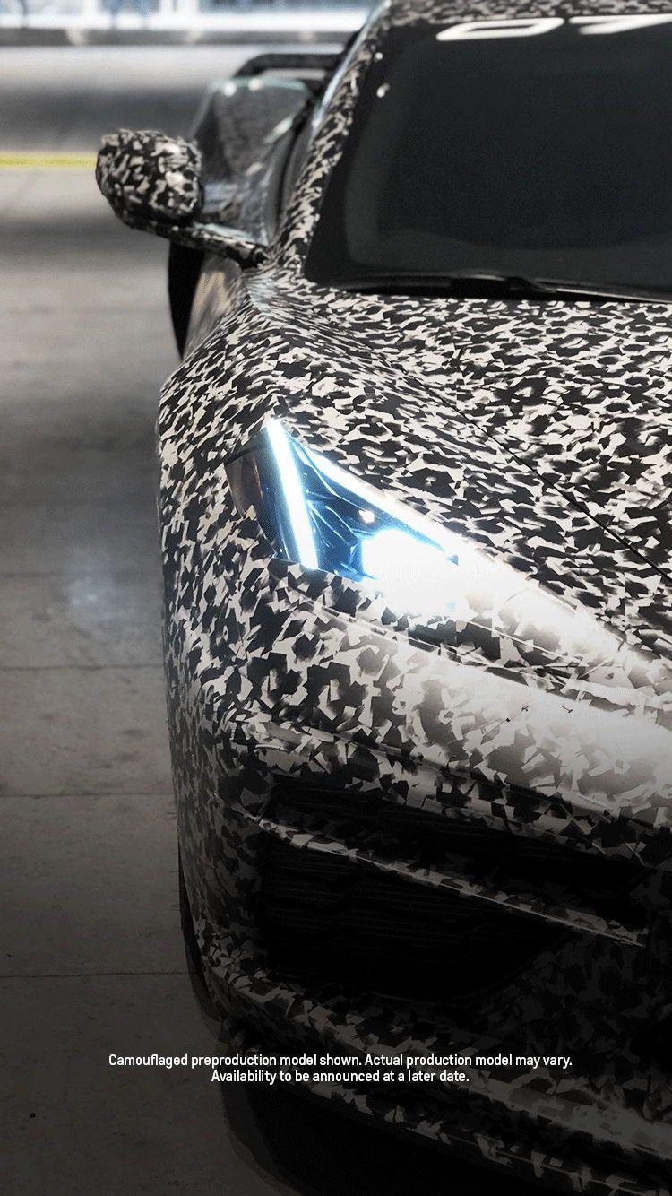 Camouflaged 2020 C8 Corvette As Shown In Nyc Corvette Car Guys Chevrolet Corvette