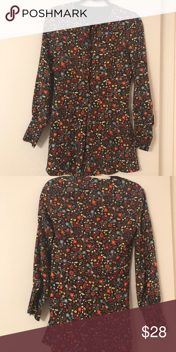 8cd731dccebb Zara floral romper size small Floral Zara romper size small. Bought on posh  but and never worn it. In perfect condition. Zara Pants Jumpsuits   Rompers
