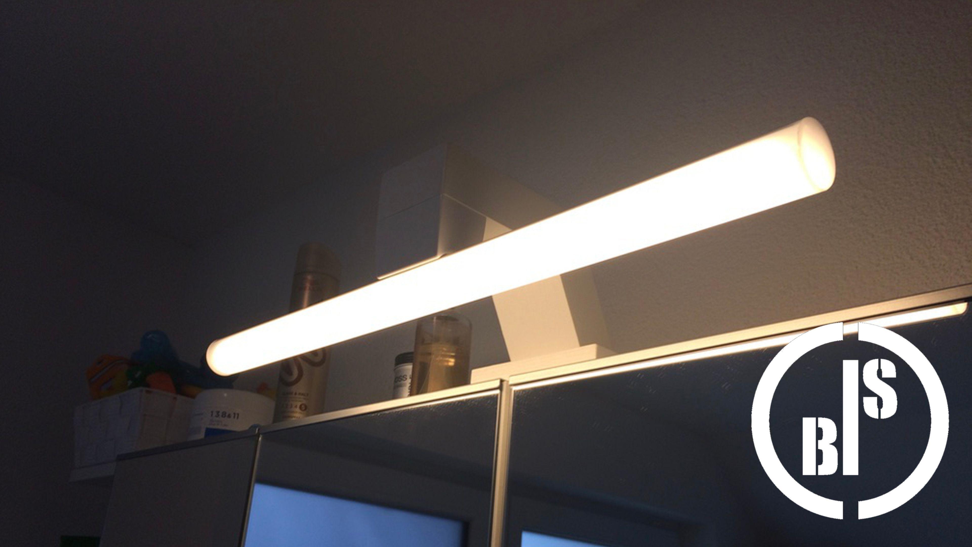 Diy Bathroom Light Badezimmer Lampe Selber Bauen Because We Didn
