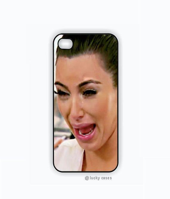 best service b9330 eefa4 Kim Kardashian Ugly Crying Face Iphone 5 case, Iphone 5s case, Hard ...