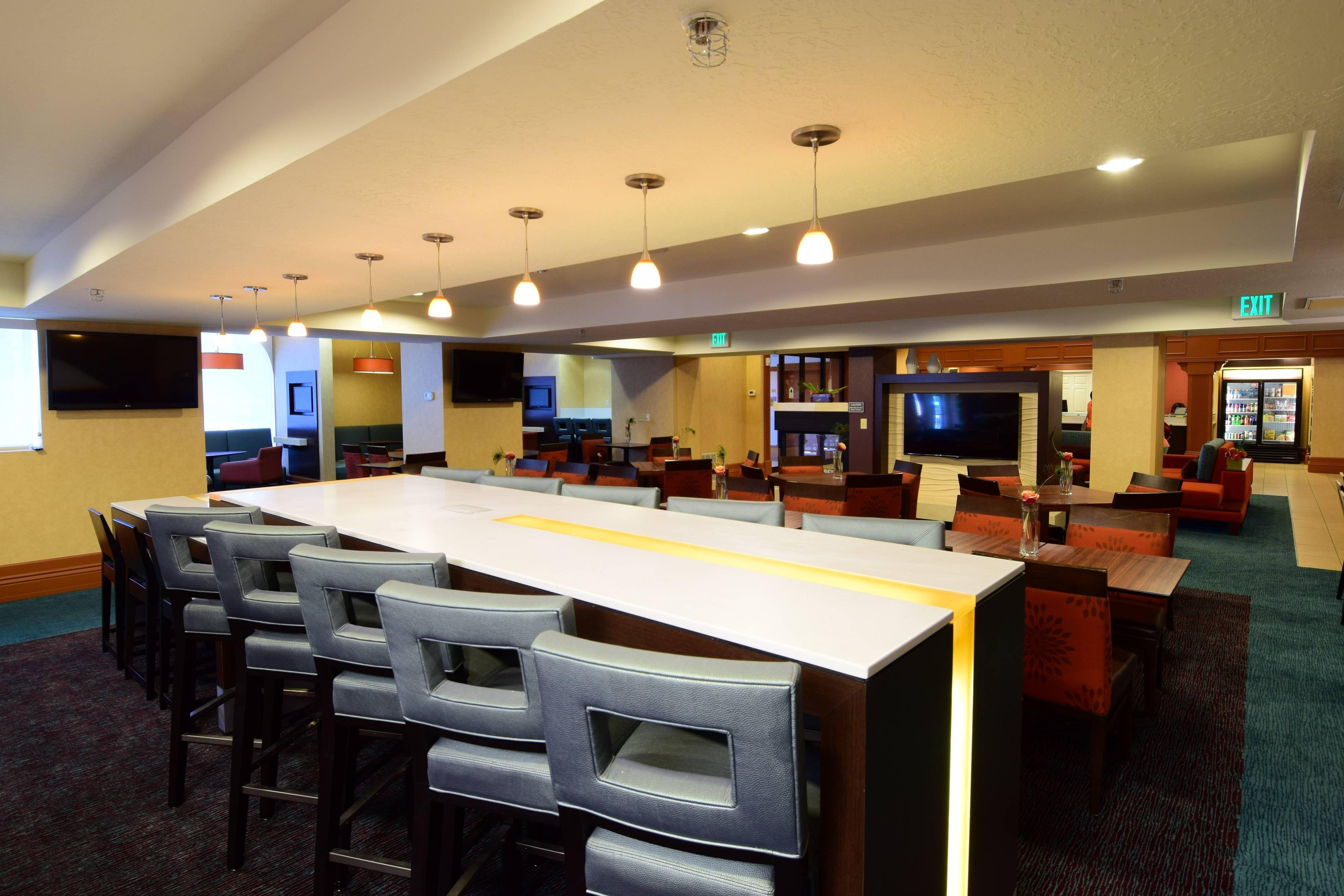 Residence inn salt lake city downtown communal table hotels