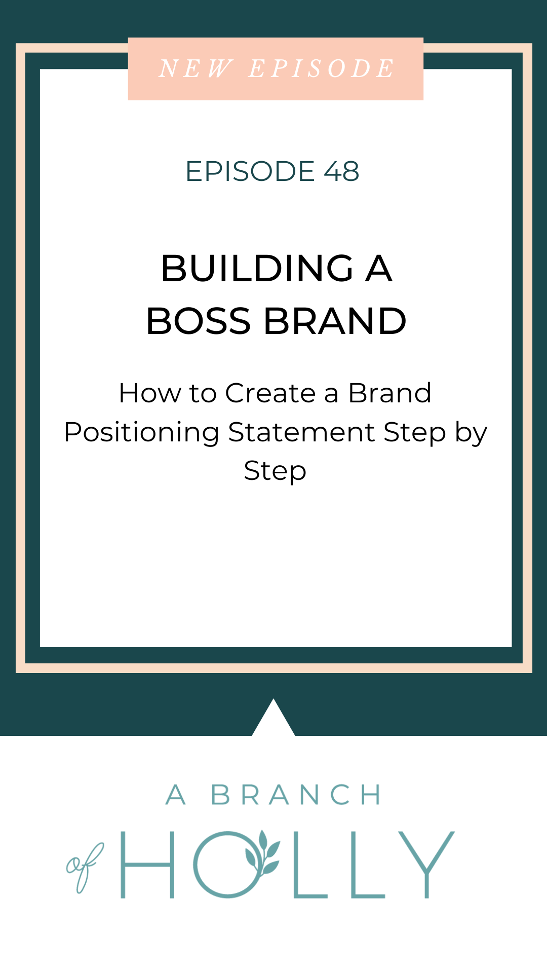 HOW TO WRITE A POWERFUL BRAND POSITIONING STATEMENT (YOUR