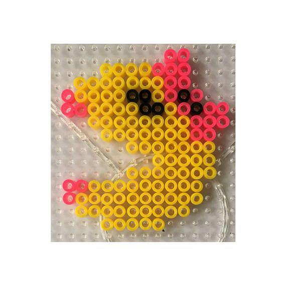 Ms Pacman - Perler  Hama DIY Kit - copy blueprint design & draft