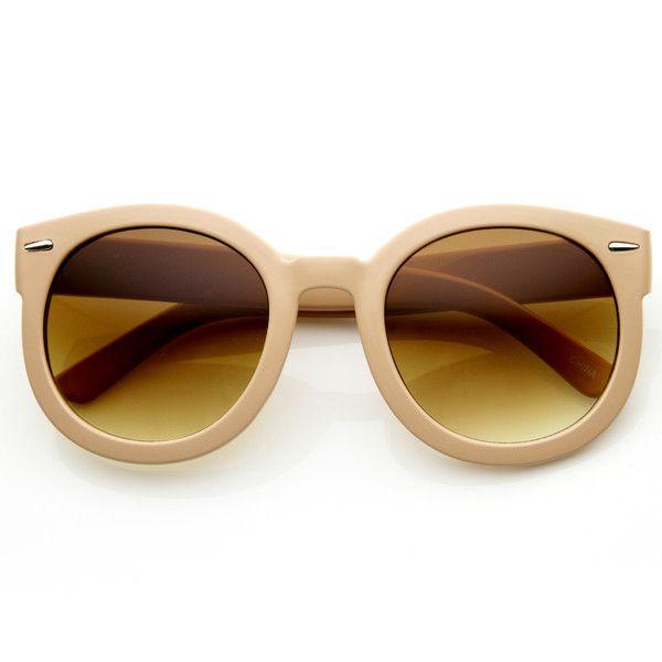 110ee8c744 Womens Designer Round Sunglasses Oversize Retro Fashion Sunglasses 8623  from zeroUV