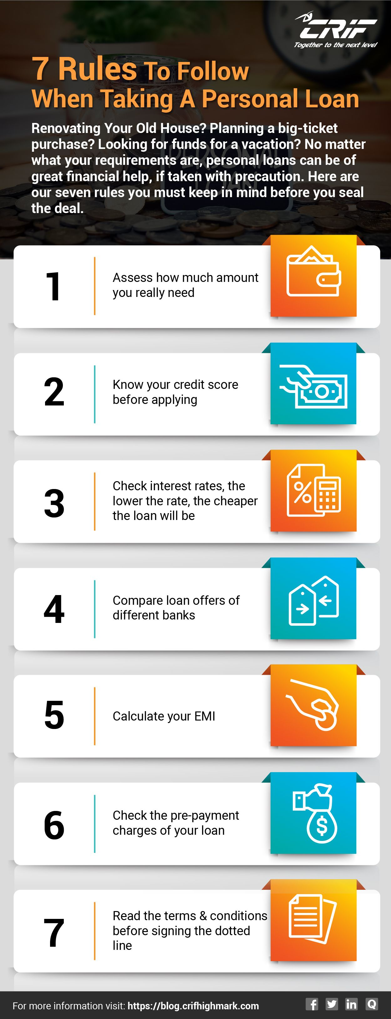 Want To Take A Loan Here Are Three Most Important Rules To Keep In Mind Personal Loans Financial Help Credit Score