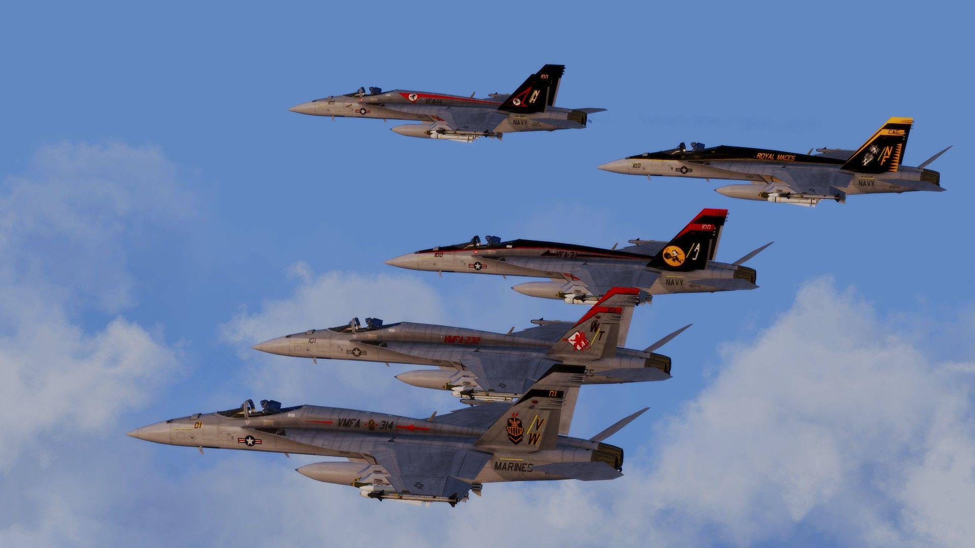 FA-18 Super Hornet pack (Arma 3) | Gaming 3D Graphics