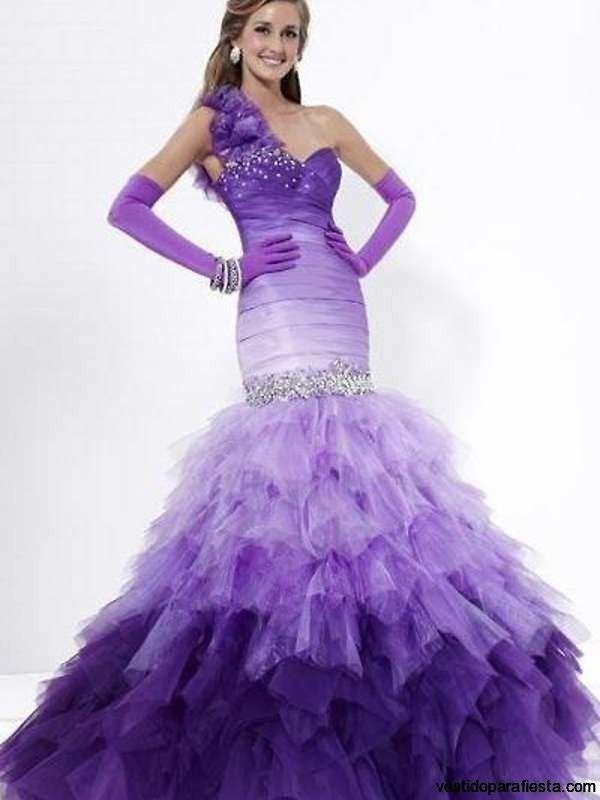 Modernos vestidos de xv anos color morado – 17 - https ...