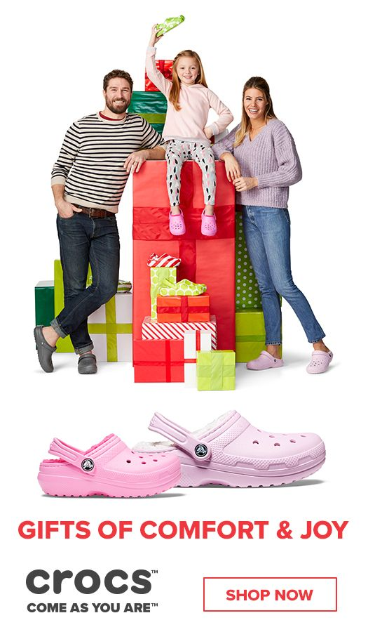 9df4afc8e8cea Outfit the whole family this season in our coziest collection - the fuzz  lined collection. Stay comfortable this season with Crocs clogs