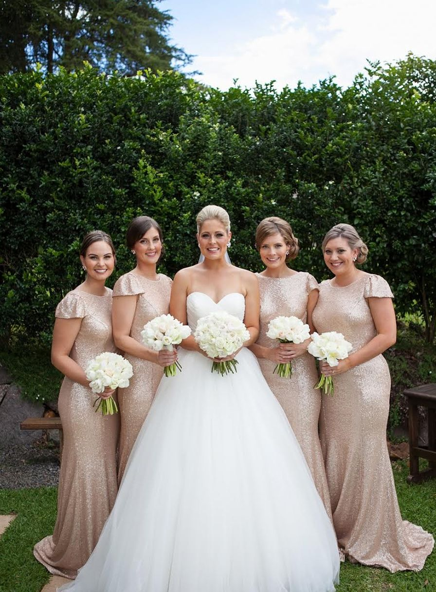 Bridal party style. love!