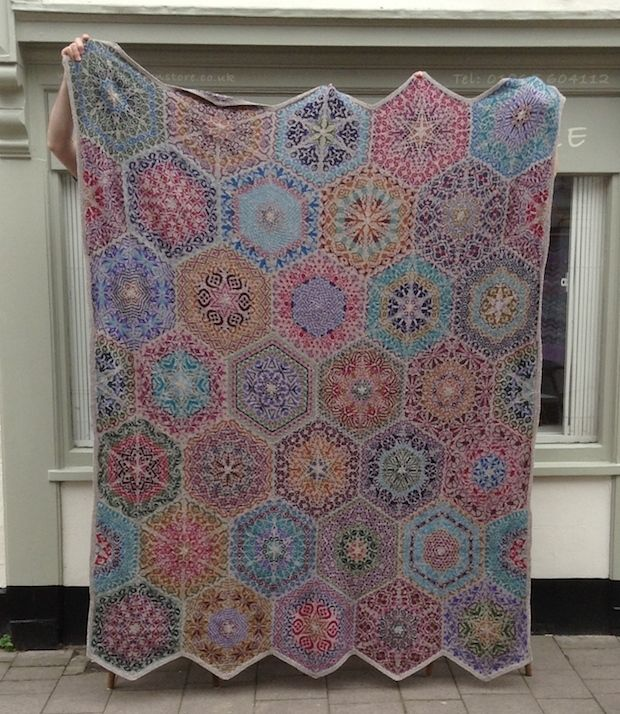 Persian Dreams pattern by Jenise Hope | Persian, Patterns and Blanket