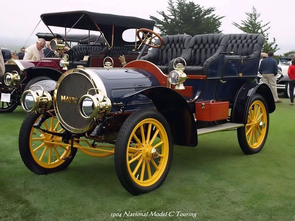 Old Cars - 1904 National Model C Touring | ( 1900\'s CARS & TRUCKS ...