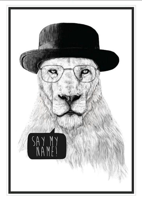 Breaking Bad Lion
