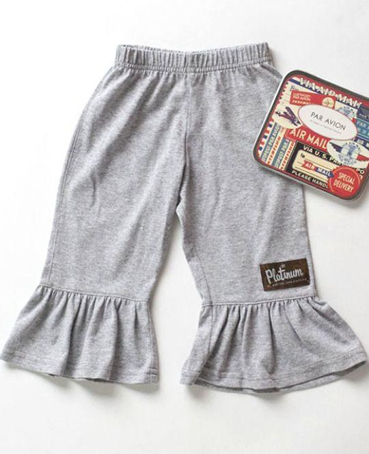 STERLING - Ruffled Pants $36.00   Code: PLATUB76