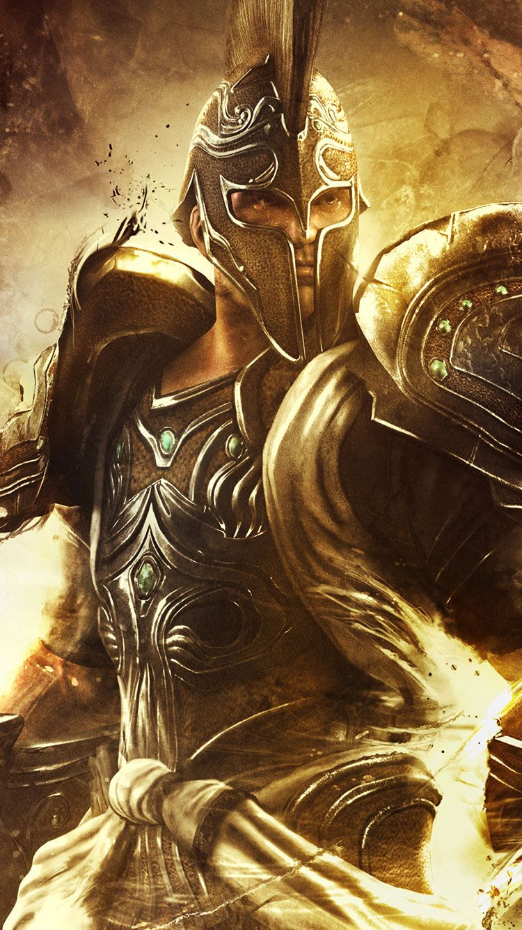 30 HD Conceptual iPhone Wallpapers in 2020 God of war
