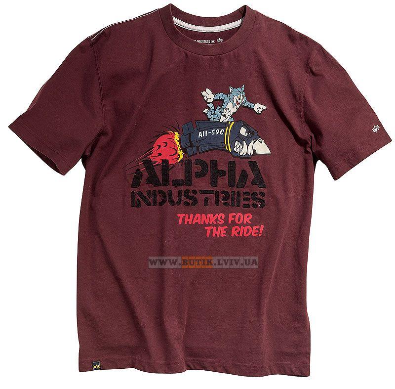 Футболка Tomcat Tee Alpha Industries (Redwood) Розміри  XS 02c49944d52fd