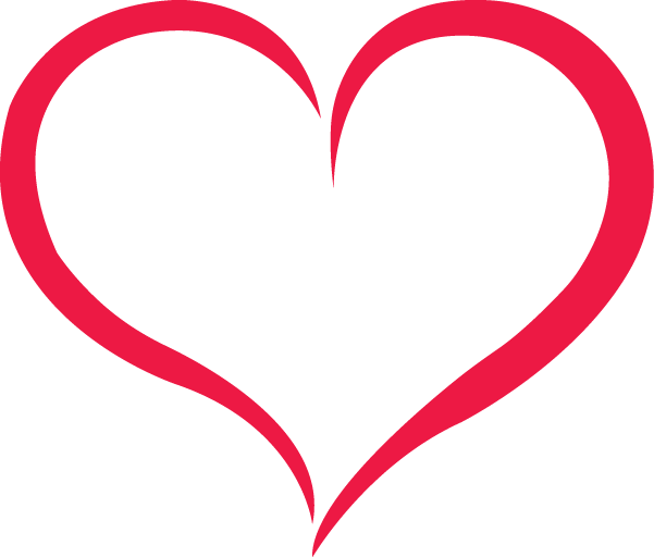 Red Outline Heart Png Image Download Heart Outline Tattoo Heart Outline Free Clip Art