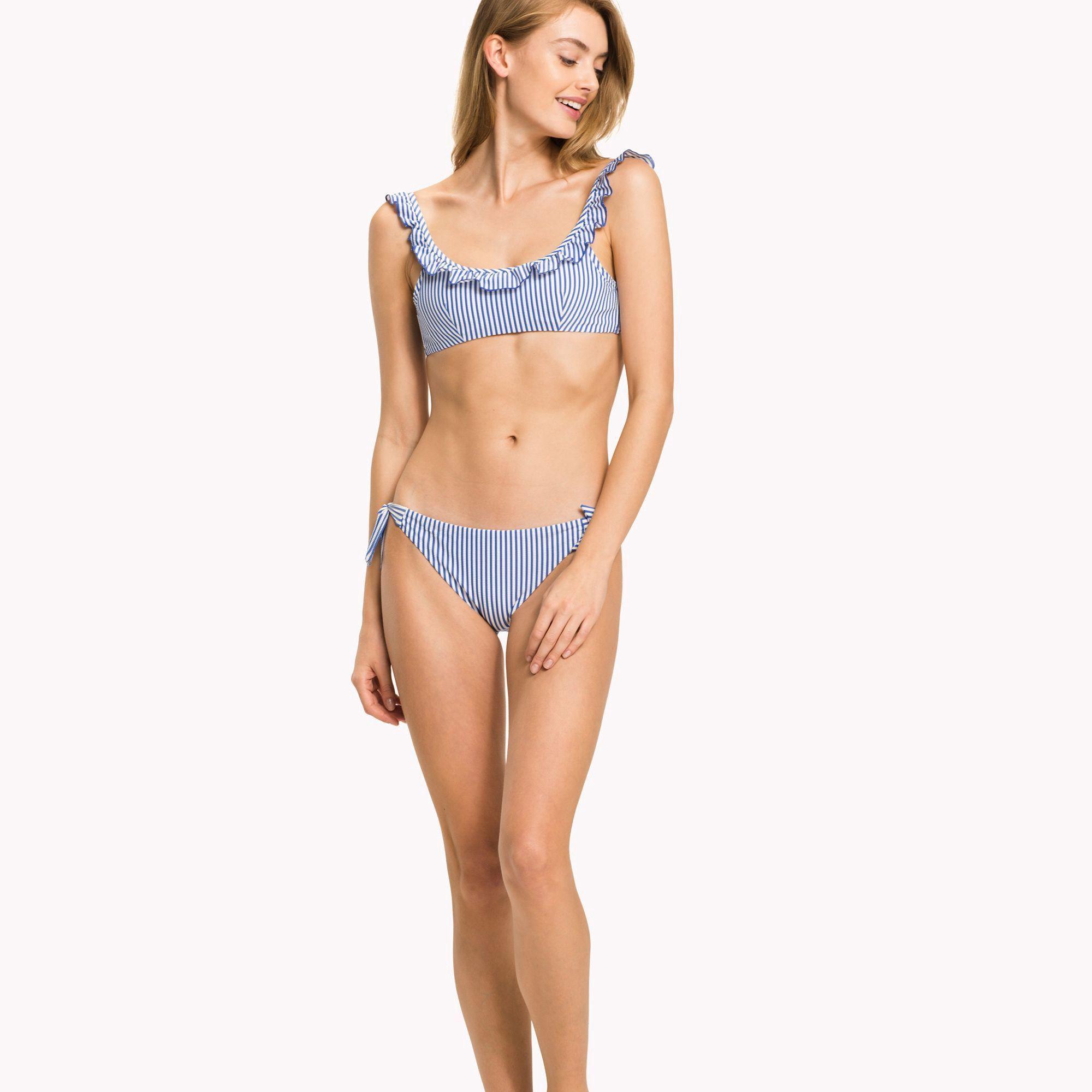 4cfc82682e Seersucker Stripe Bikini Top by Tommy Hilfiger