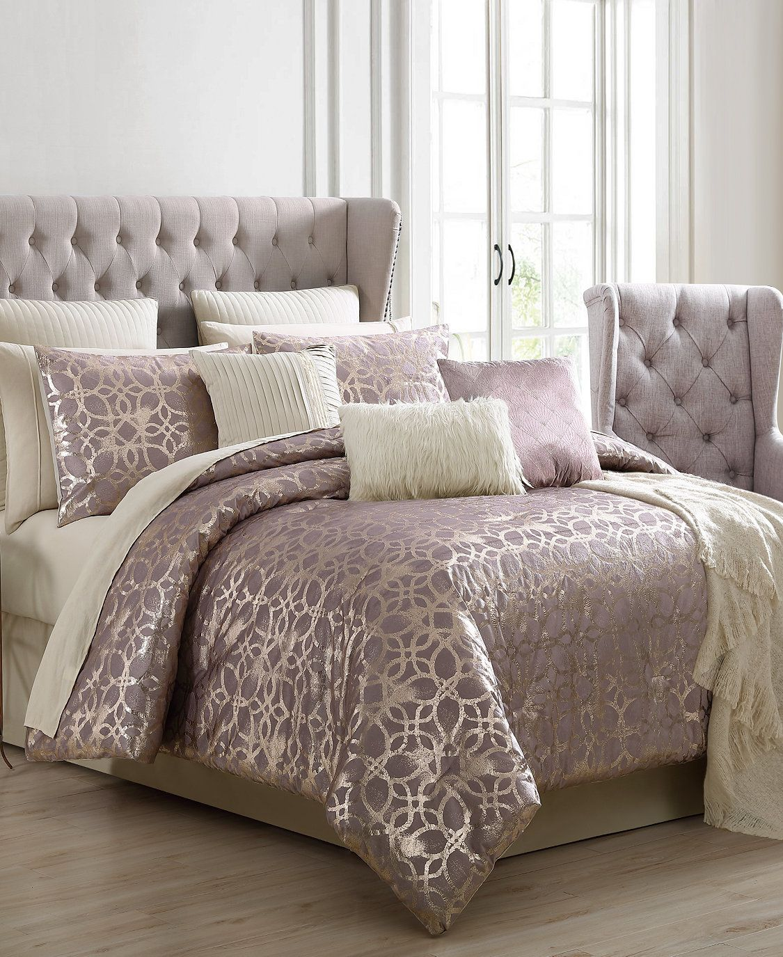 Hallmart Collectibles Sadie 14 Pc King Comforter Set Reviews Comforter Sets Bed Bath Macy S Queen Comforter Sets Comforter Sets King Comforter Sets What is the size of a king size comforter