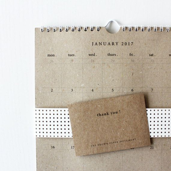 2018 Medium Bound Calendar, A4 Calendar, Portrait Calendar