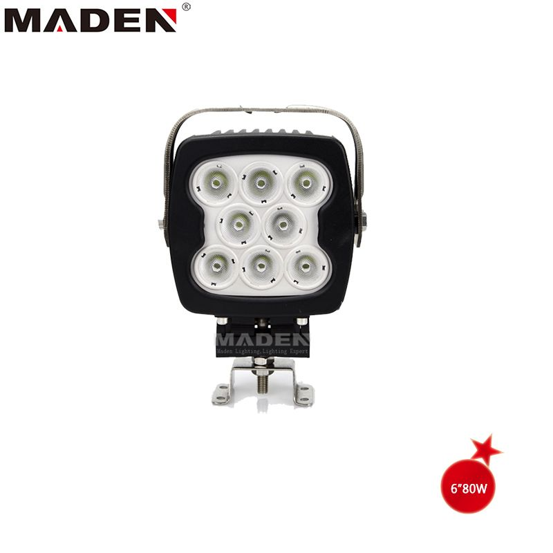 Led Car Lighting 80w Led Work Light For Trailer Md 6800 Led Power 80w Material Diecast Aluminum Housing Oper Led Work Light Led Light Bars Led Driving Lights