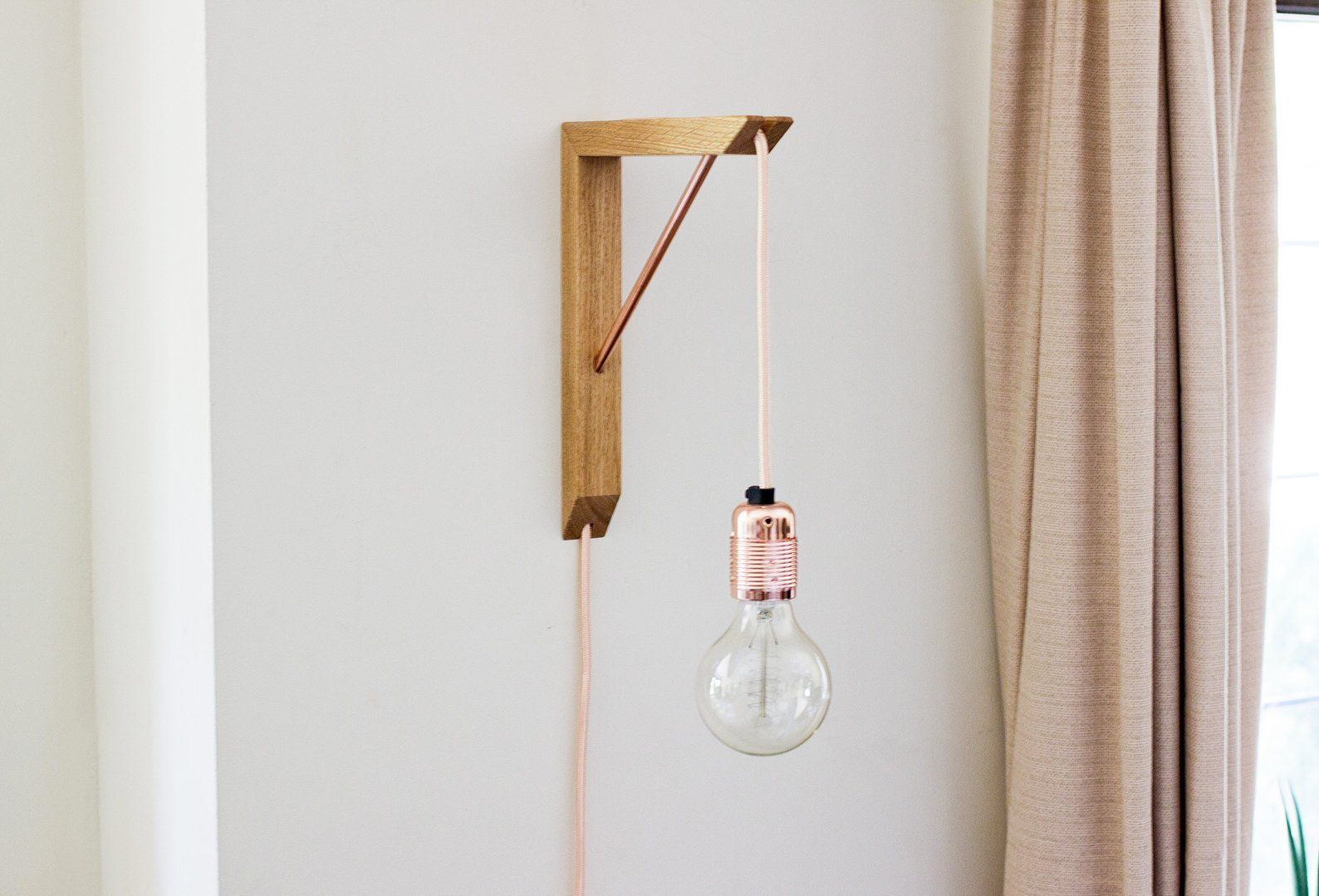 Lighting Bracket Pendant Light Wooden Light Bracket Pendant