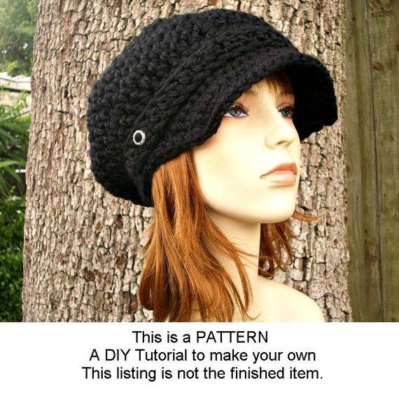 Instant Download Crochet Pattern Crochet Hat Pattern For Crochet