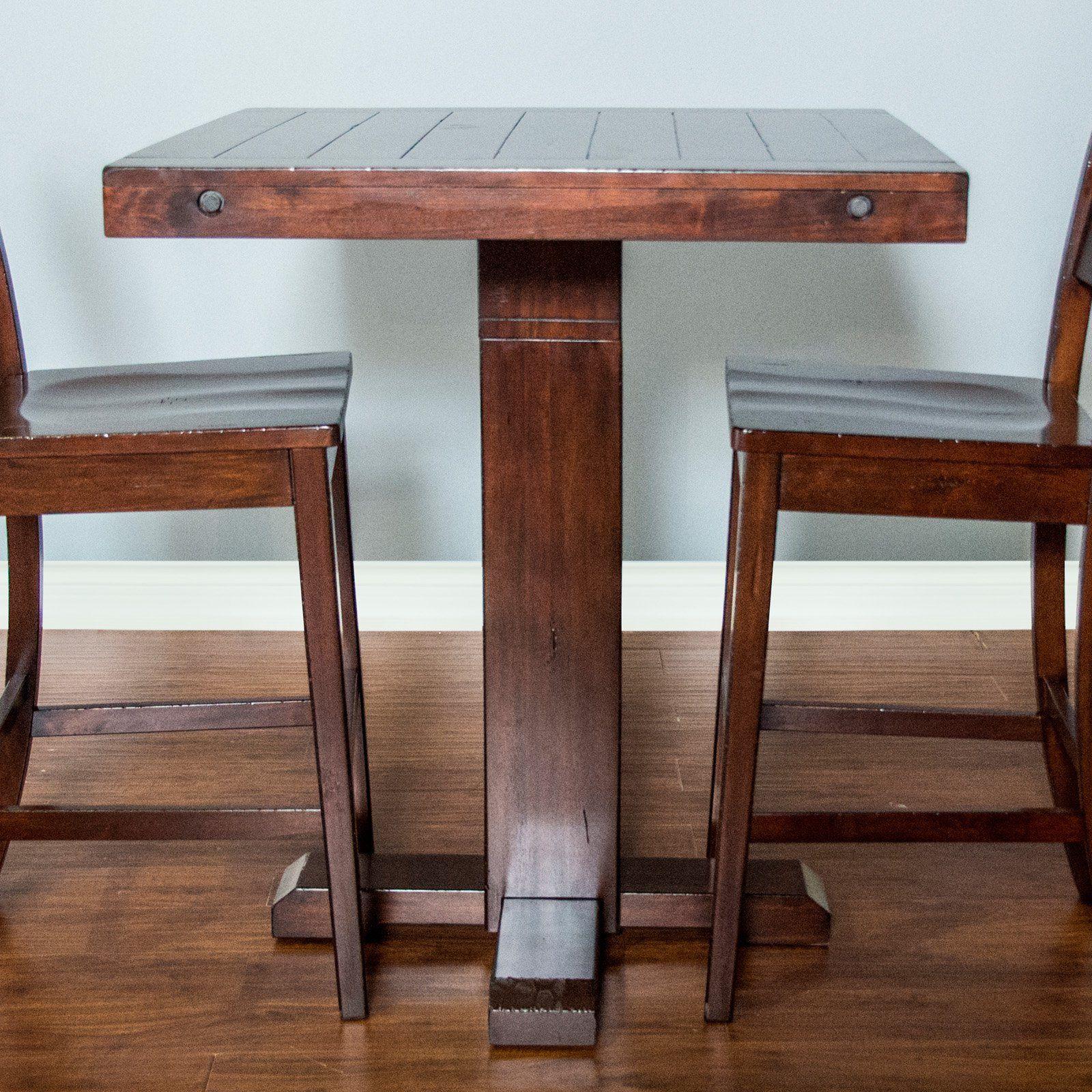 Sunny Designs Vineyard Adjustable Height Pub Table From Hayneedle Com