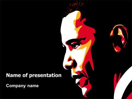 wwwpptstar powerpoint template barack-obama  Barack - chemistry powerpoint template