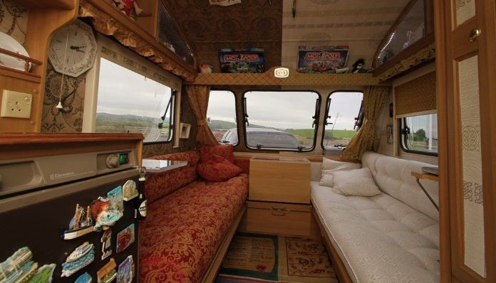 TOUCH this image: 'Art caravan' in Ebrington for 1st week of Turner Prize by Kevin Mullan